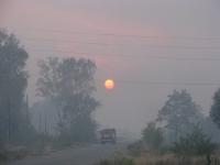 Село Ключи :: Дым, безотрадный, бесконечный дым...