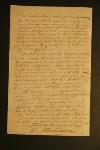 Письмо Достоевского Петерсону.  Последняя  страница крупный план с подписью
